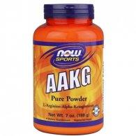 AAKG Powder Arginina (198g) - Now Sports