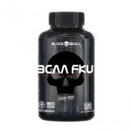 BCAA FKU Caveira Preta Series 120 tabletes - Black Skull