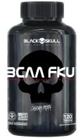 BCAA FKU Caveira Preta Series 240 tabletes - Black Skull