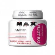 Colagen Hidrolisado 100 cápsulas - Max Titanium