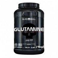 Glutamina Caveira Preta Series 1kg - Black Skull