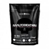 Malto Caveira Preta Series 1kg - Black Skull