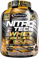 Nitro Tech Whey Isolate Gold 1.8kg (33% Free) - MuscleTech