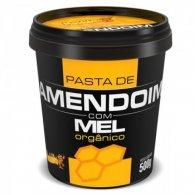 Pasta de Amendoim com Mel Org�nico (500g) - Mandubim