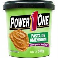 Pasta de Amendoim Açucar de Coco 500g - Power One