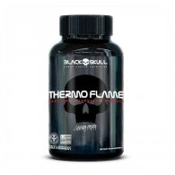 Thermo Flame Caveira Preta Series 240 tabletes - Black Skull