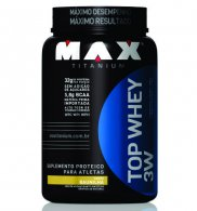 Top Whey 3W (900gr) - Max Titanium