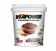Pasta de Amendoim Vita Power 1kg Cacau Protein