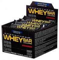 Whey Bar Low Carb (caixa c/ 24 Un. de 40g) - Probiótica