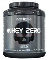 Whey Zero Carbo 100% Isolado (2kg) - Black Skull
