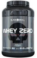 Whey Zero Carbo 100% Isolado (907g) - Black Skull